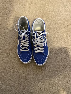 Blue high top vans size 10.5 for Sale in Austin, TX