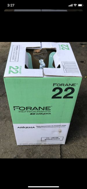 R22 Freon 30 pounds brand new for Sale in Pasadena, TX