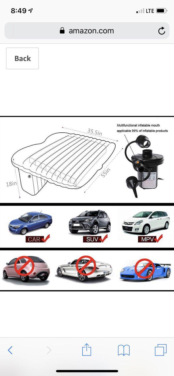 Inflatable Car / Multi-use Air Mattress