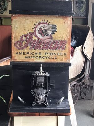 Indian motorcycle sign for Sale in Pennsauken Township, NJ