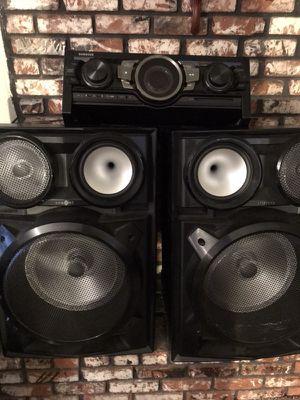 Samsung giga sound dj equipment for Sale in Fresno, CA