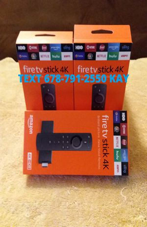 4K HDR Amazon Fire TV stick / Loaded for Sale in Forest Park, GA