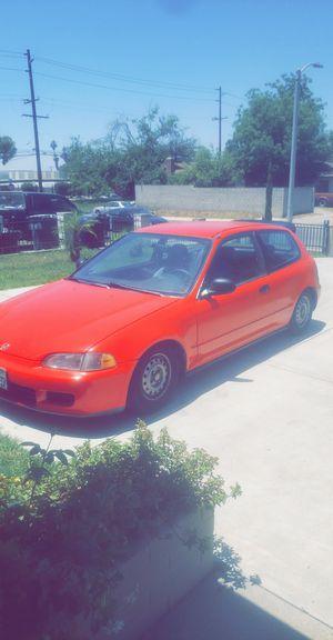 93 Honda Civic Hatchback for Sale in Pomona, CA