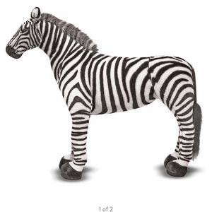 Life Size Plush Zebra for Sale in Cleveland, OH