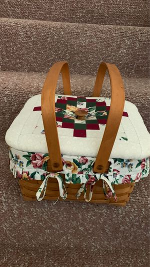 Longaberger sewing basket for Sale in Riverside, CA