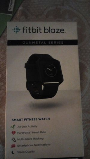 Fitbit blaze gunmetal series for Sale in Takoma Park, MD