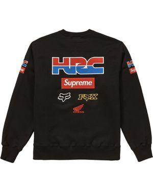 Supreme x Honda x Fox Racing Crewneck Medium Black for Sale in Lewisville, TX