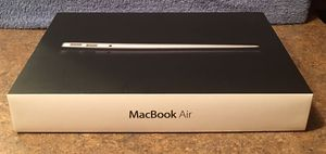 Apple MacBook Air 13-inch LED-backlit widescreen notebook (Box Only) for Sale in Fox Lake, IL