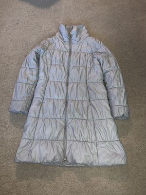 Patagonia women L grey puffer jacket for Sale in Portland, OR