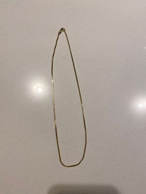 14kt gold box link chain for Sale in Seattle, WA