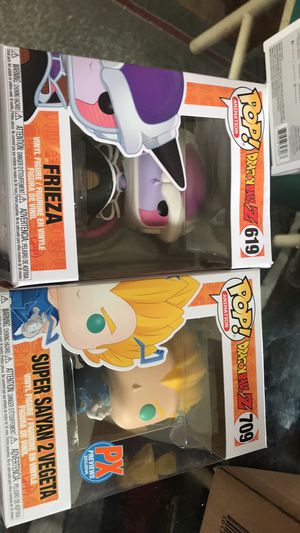 dragonball z funko pops for Sale in Parma Heights, OH
