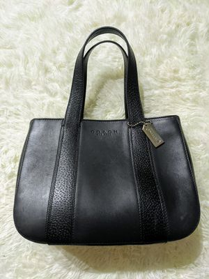 Black Leather COACH Handbag 100% Authentic for Sale in Miramar, FL