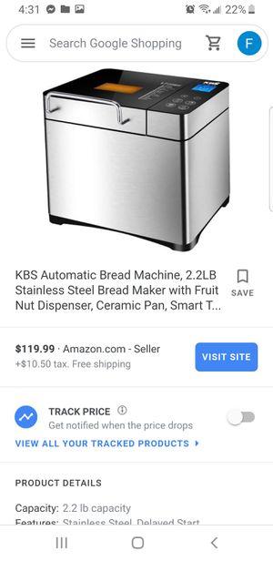 KBS Bread maker (NEW) for Sale in Hemet, CA