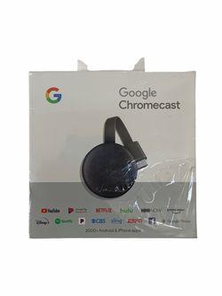 Google Chromecast 2018 GA00439-US Charcoal 3rd Generation Media Stream for Sale in Norwalk,  CA