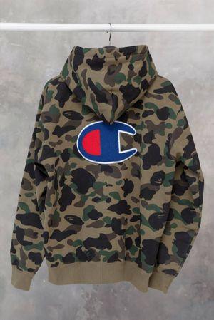 Bape x champion hoodie for Sale in Virginia Beach, VA