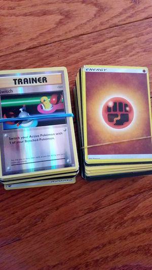 Pokemon trainers and energies. Fake Dialga EX and Raqueza action figure. for Sale in Fairfax, VA
