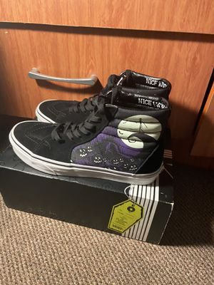 Limited edition nightmare before Christmas vans size (8.0) for Sale in Queens, NY