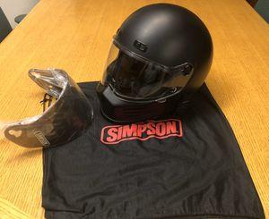 Simpson motorcycle helmet for Sale in Highland, CA