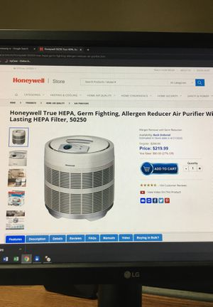 Honeywell HEPA Air Purifier for Sale in Orem, UT