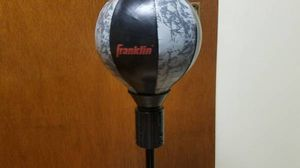 Franklin Sports Youth MMA Floor Standing Talking Speed Bag and Gloves-$20 for Sale in Pittsburgh, PA