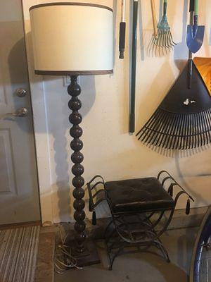 HW Home floor lamp for Sale in Denver, CO