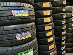 Brand new tire sets on sale‼️ All major brands and sizes available ✅ for Sale in San Lorenzo, CA