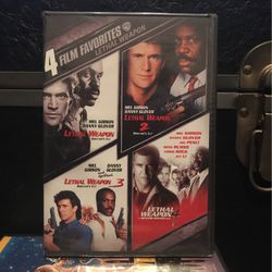 Lethal Weapon 1-4 for Sale in West Haven,  CT