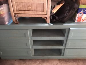 Up cycled dresser/TV stand for Sale in Fresno, CA