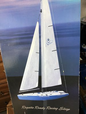 NEW Nirvana Megatech R/C Sailboat for Sale in Grand Island, NY
