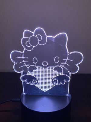 Beautiful hello kitty 3d lamp for Sale in Las Vegas, NV