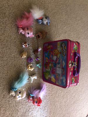 Shopkins box and toys for Sale in Cape Coral, FL