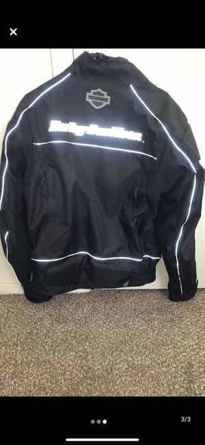 Harley padded riders jacket for Sale in San Angelo, TX