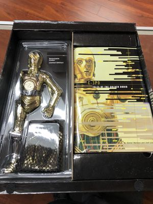"C-3PO tales of the golden droid star wars masterpiece edition 9"" Inch for Sale in La Habra, CA"