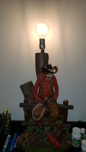 Cowboy Lamp for Sale in Riverside, CA