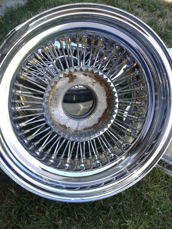 15x8 Zenith Wire Wheels For Sale In Stockton Ca Offerup