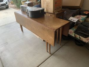 Awesome 6 ft dining/side table drop leaf for Sale in Chandler, AZ