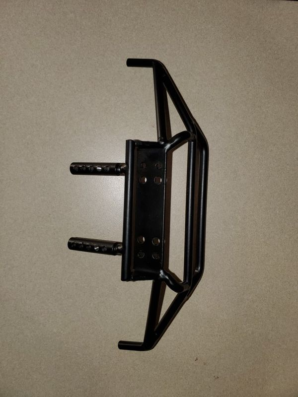Rc4wd tough armor steel bumper with winch mount for Trail Finder 2