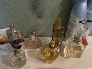 Woman's perfume one like new others half serious interested just Calvin Klein cost like $70 please make a good offer for all for Sale in Norcross, GA