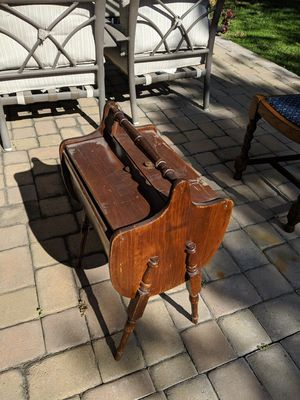 Antique Wooden Knitting Cabinet for Sale in Fountain Valley, CA