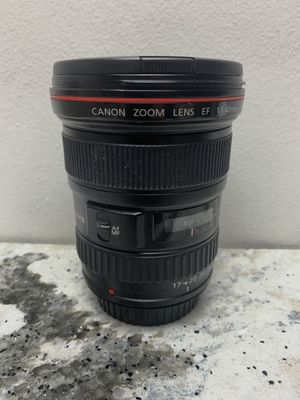 Canon EF 17-40 f4.0 for Sale in Los Angeles, CA