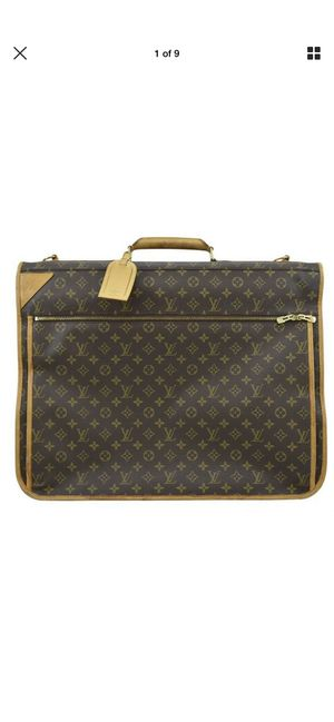 Louis Vuitton authentic garment travel carrier bag for Sale in Chicago, IL