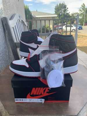 Air Jordan 1 bloodline size 12 ds for Sale in Fremont, CA