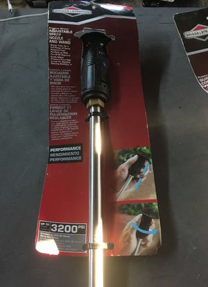 Adjustable Spray Nozzle and Wand - pressure washer for Sale in Silver Spring, MD