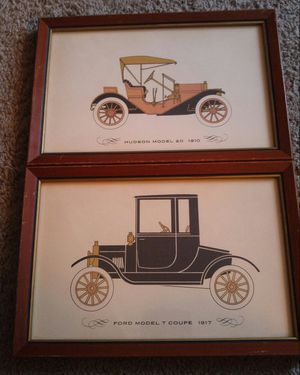Antique Car Framed Prints for Sale in Damascus, MD