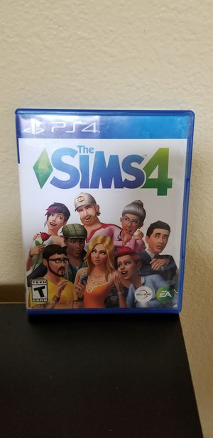 THE SIMS 4 - PS4, FIRM PRICE, NO TRADE, GOOD CONDITION for Sale in Garden Grove, CA