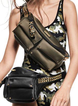 Michael Kors Olivia Olive Large WaistPack / Shoulder Bag for Sale in Las Vegas, NV