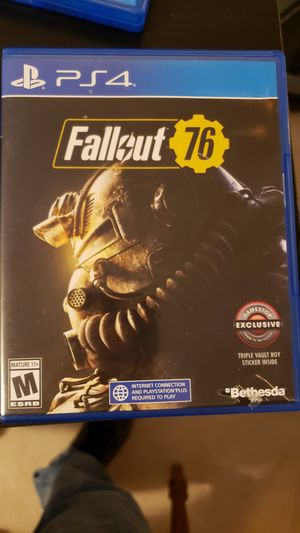 Fallout 76 for PS4 for Sale in Orange, TX
