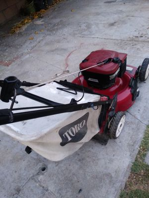 Toro push Lawn mower works great for Sale in Colton, CA