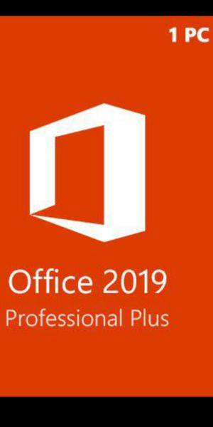 Microsoft Office Pro 2019/2020 Copy for Sale in Fontana, CA