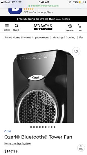 Ozeri Bluetooth Tower Fan for Sale in Inglewood, CA